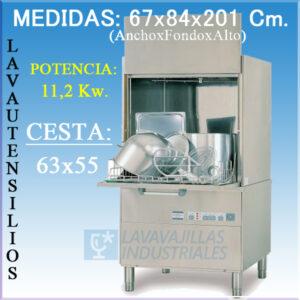 lavautensilios sammic LU-61H