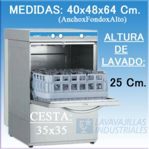 Lavavasos Elettrobar Fast 130