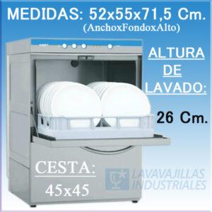 Lavavasos Fast 150 Elettrobar