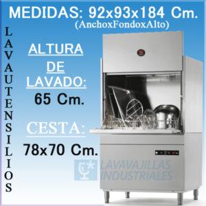 Lavautensilios SAMMIC LU-75