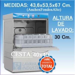 LAVAVASOS-FAST-40 ELETTROBAR